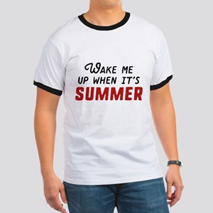 Wake Me Up Summer Ringer T