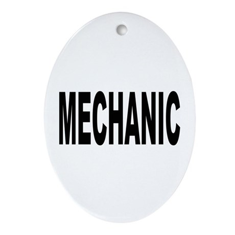 Mechanic Oval Ornament