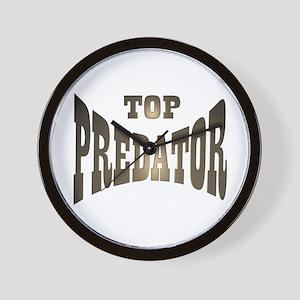 TOP PREDATOR Wall Clock