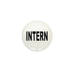 Intern Mini Button (10 pack)