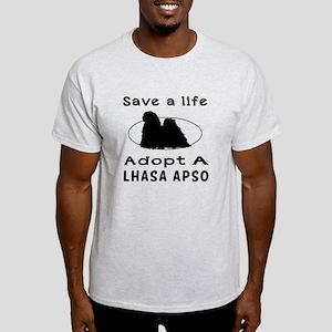 Adopt A Lhasa Apso Dog Light T-Shirt