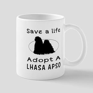 Adopt A Lhasa Apso Dog Mug