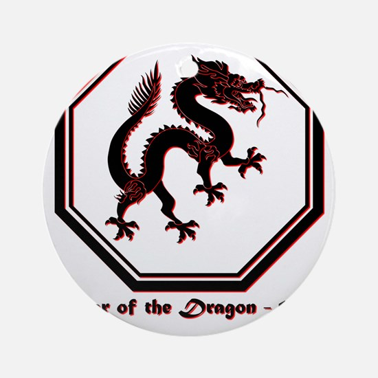 Year of the Dragon - 1964 Round Ornament
