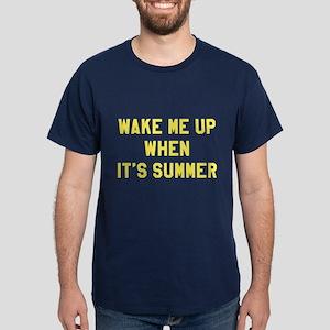 Wake Me Up Summer Dark T-Shirt