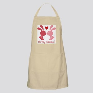 be my valentine BBQ Apron