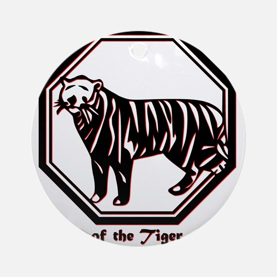 Year of the Tiger - 1986 Round Ornament