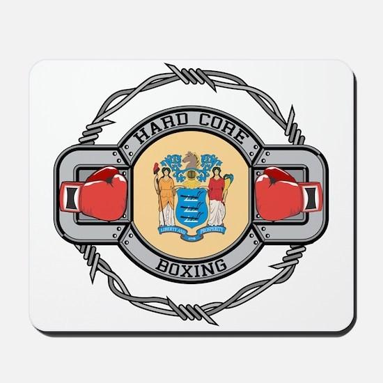 New Jersey Boxing Mousepad