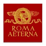 Roma Aeterna Tile Coaster - Piastrella da tavolo