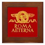 Roma Aeterna Framed Tile - Piastrella incorniciata