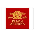 Roma Aeterna 8 Postcards - 8 Cartoline postali