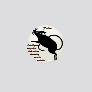 Year of the Rat - Traits Mini Button