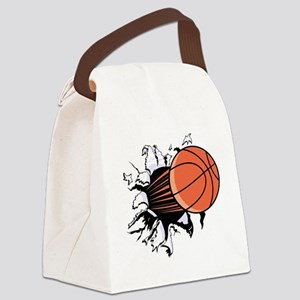 Breakthrough Basketball Canvas Lunch Bag