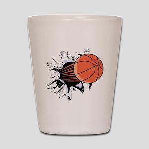 Breakthrough Basketball Shot Glass