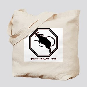 Year of the Rat - 1984 Tote Bag