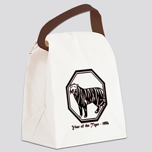 Year of the Tiger - 1986 Canvas Lunch Bag