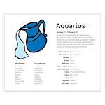 Aquarius (Small Poster)