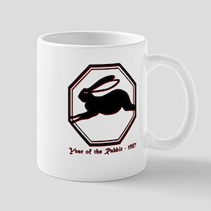 Year of the Rabbit - 1987 11 oz Ceramic Mug