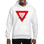 Yield to Peace Hooded Sweatshirt
