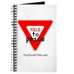 Yield to Peace Journal