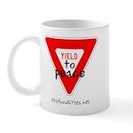 Yield to Peace Mug