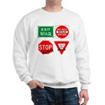 Four Signs of Peace Sweatshirt