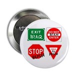Four Signs of Peace Button