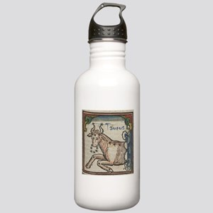 Taurus 16th Century Woodcut Water Bottle