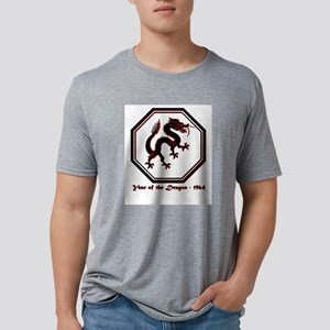 Year of the Dragon - 1964 Mens Tri-blend T-Shirt