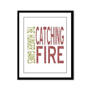 Catching Fire Hunger Games Framed Panel Print
