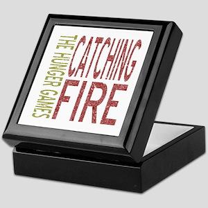 Catching Fire Hunger Games Keepsake Box