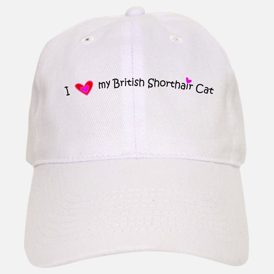 British Shorthair - MyPetDoodles.com Baseball Baseball Cap