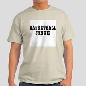 Basketball Junkie Ash Grey T-Shirt