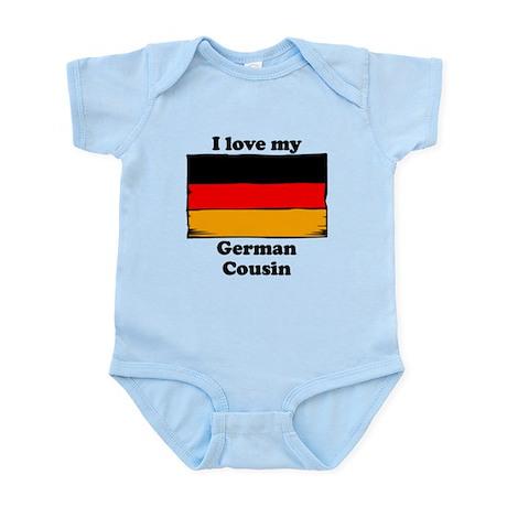I Love My German Cousin Body Suit