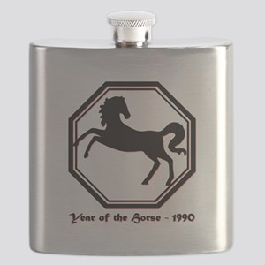Year of the Horse - 1990 Flask