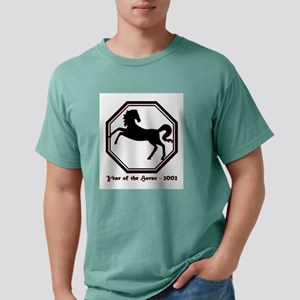 Year of the Horse - 2002 Mens Comfort Colors Shirt