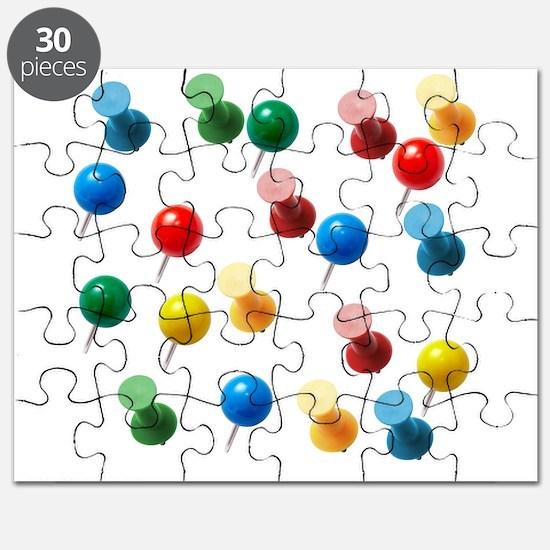 Push Pins Puzzle