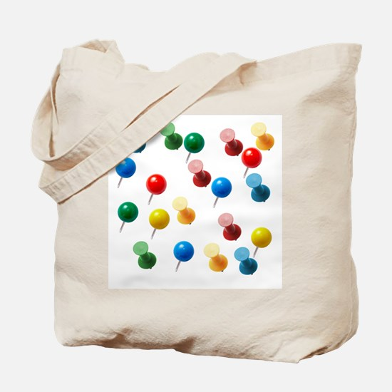 Push Pins Tote Bag