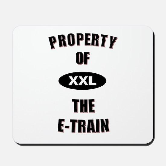 E-Train Property Mousepad