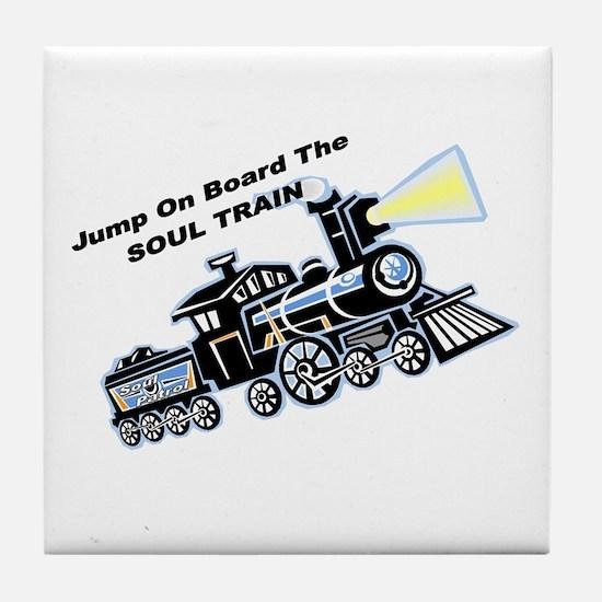 Soul Train Tile Coaster