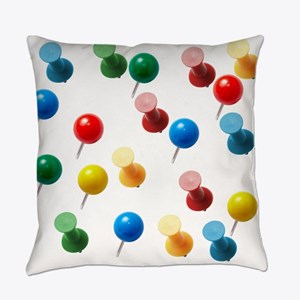 Push Pins Everyday Pillow