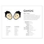 Gemini (Small Poster)