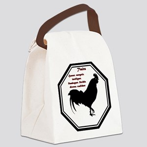 Year of the Rooster - Traits Canvas Lunch Bag