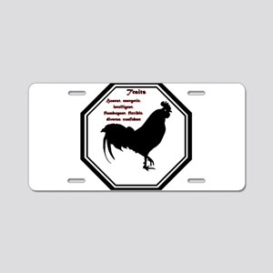 Year of the Rooster - Traits Aluminum License Plat