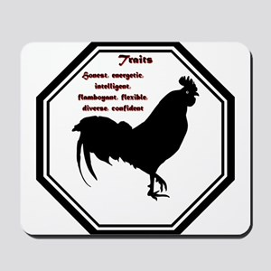 Year of the Rooster - Traits Mousepad