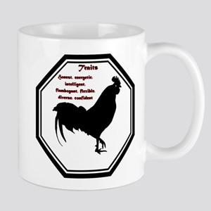 Year of the Rooster - Traits 11 oz Ceramic Mug