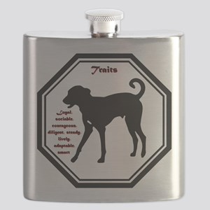 Year of the Dog - Traits Flask