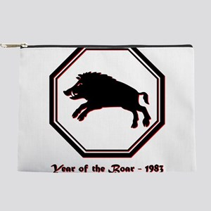 Year of the Boar - 1983 Makeup Pouch