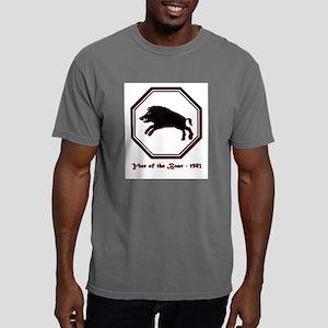 Year of the Boar - 1983 Mens Comfort Colors Shirt