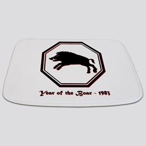 Year of the Boar - 1983 Bathmat