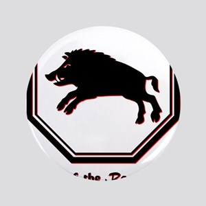 """Year of the Boar - 1983 3.5"""" Button"""